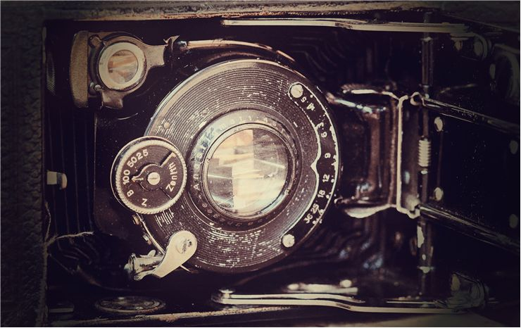 Picture Of Antique Photography Camera