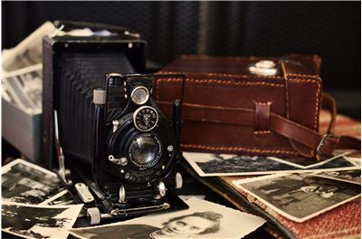 Picture Of Antique Voigtlander Camera