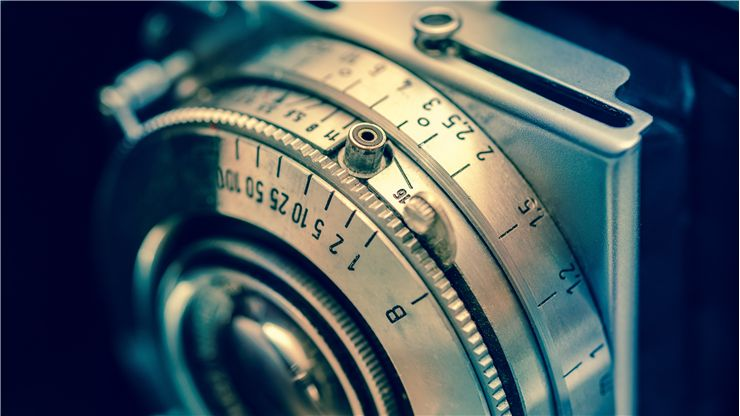 Picture Of Classic Vintage Camera