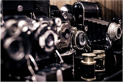 Picture Of Old Cameras Photography