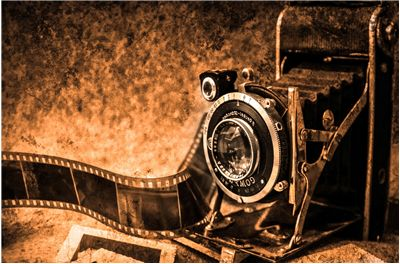 Picture Of Old Photo Camera
