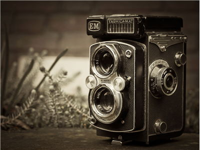 Picture Of Old Photo Camera Yashica