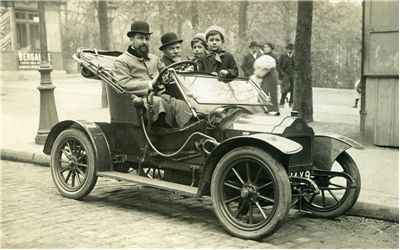 Picture Of Old Photo Of Oldtimer Automotive