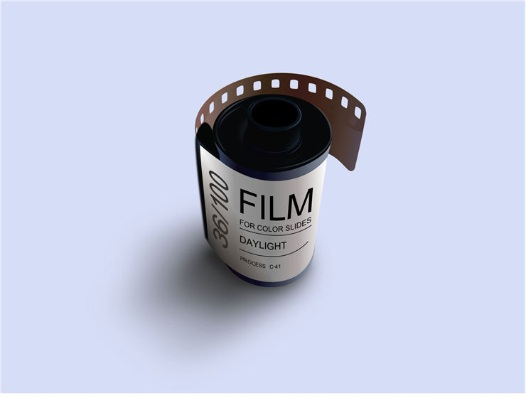 Picture Of Old Photography Film Roll