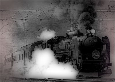 Picture Of Old Train Photo