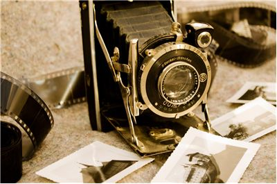 Picture Of Photographer Old Camera