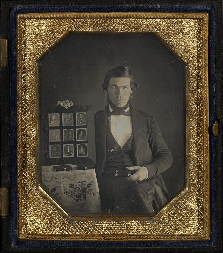 Picture Of Portrait Of A Daguerreotypist 1845