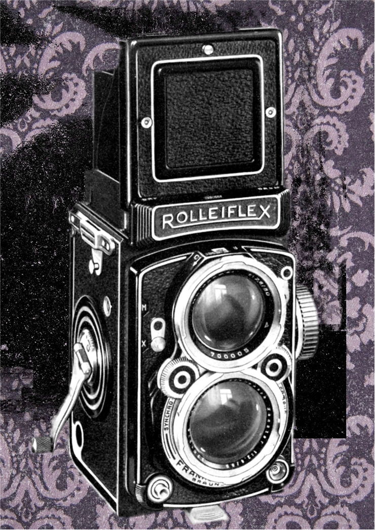 Picture Of Roleiflex Camera Old