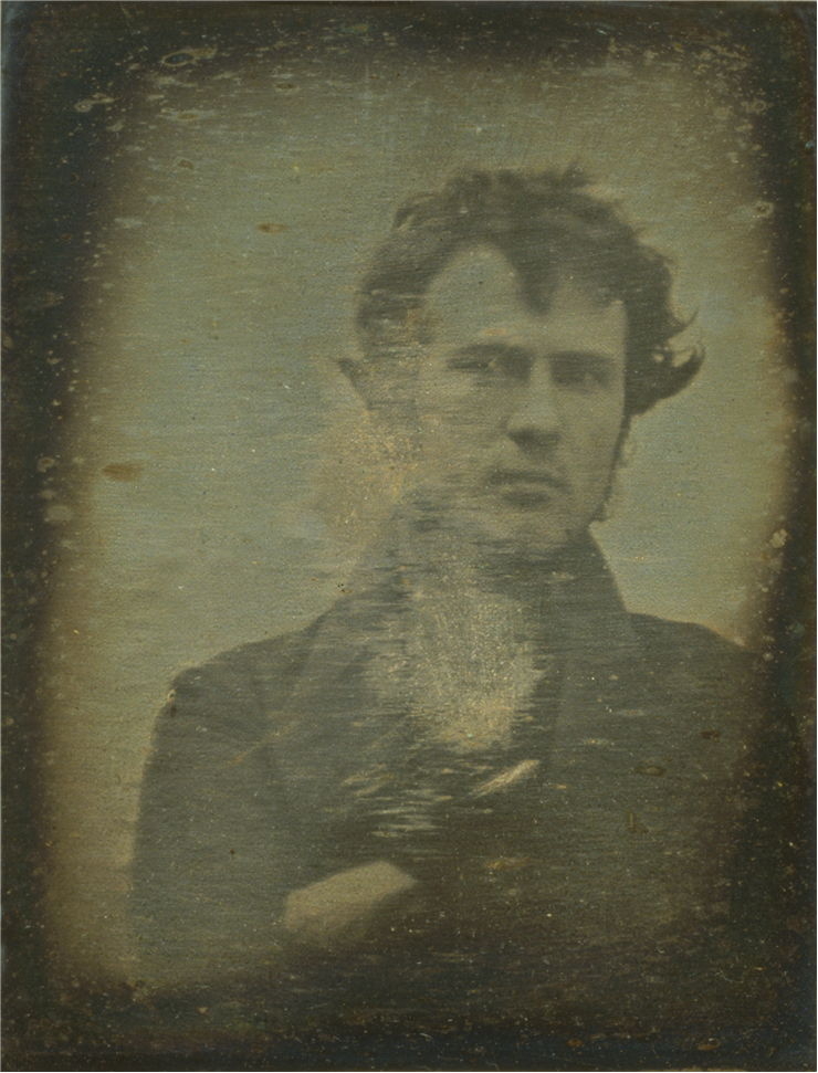 Picture Of The First Photographic Portrait Image Of A Human