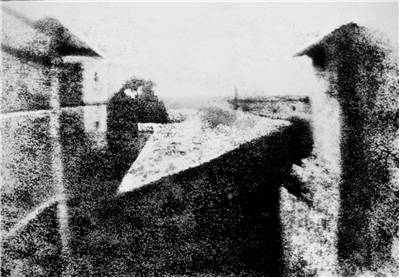 Picture Of View From The Window At Le Gras Joseph Nicephore Niepce