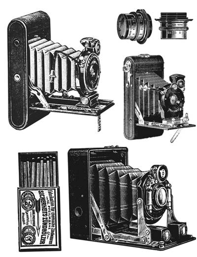 Picture Of Vintage Old Cameras