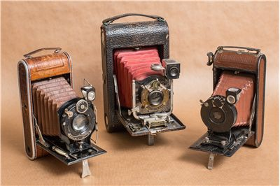 Picture Of Vintage Photo Cameras