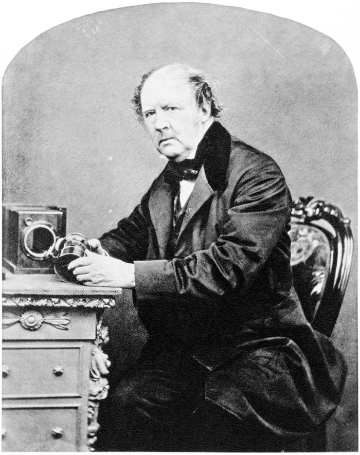 Picture Of William Henry Fox Talbot 1864